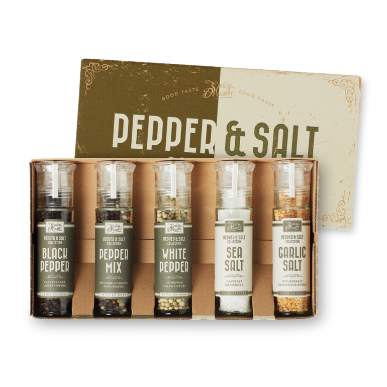Pepper & Salt 5-Pack